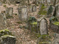 he ancient cemetery of dying Karaites.Religion-karaism, kind of Judaism. Фото Nikolay Kazachek - Depositphotos