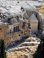 The prophets revenge tomb of Zechariah in the Kidron Valley in Jerusalem. Фото Yosef Erpert - Depositphotos