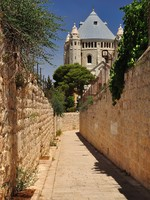 Израиль. Passage to Dormition Abbey. Jerusalem. Фото Oleg Zaslavsky - Depositphotos