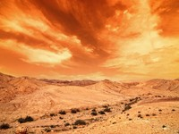Израиль. View of Judean desert landscape. Фото Yuriy Chertok - Depositphotos