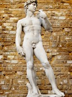 Италия.  Флоренция.David sculpture in Florence. Фото Maugli - Depositphotos