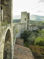 Италия. Тоскана. Ancient tuscany wall. Фото Danny Kosmayer - Depositphotos