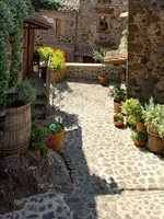 Италия. Тоскана. Beautiful picturesque nook of rural Tuscany. Фото  Petr Jilek - Depositphotos