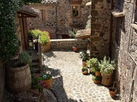 Италия. Тоскана. Beautiful picturesque nook of rural Tuscany. Фото pitrs10 - Depositphotos