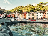 Италия. Портофино. View of Portofino. Фото Aleksandrs Tihonovs - Depositphotos