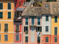 Италия. Портофино. Multicolored houses of Portofino. Фото Rostislav Glinsky - Depositphotos