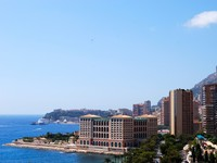 Монако. Monaco and mediterranean sea panoramic view. Фото Yuriy Davats - Depositphotos