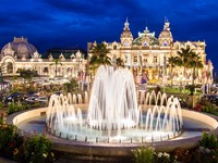 Монако. Монте Карло. Casino of Monte Carlo. Фото Matej Kastelic - Depositphotos