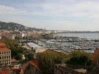 Франция. Лазурный Берег. Канны. Cannes view. Фото Adam Wolszczak - Depositphotos
