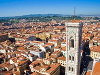 Италия. Флоренция. Panorama of Florence, Italy. Фото sailorr - Depositphotos