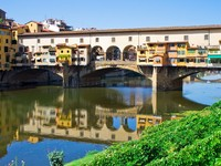 Италия. Флоренция. Ponte vecchio. Фото  sailorr - Depositphotos