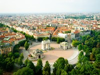 Италия. Милан. Panorama of Milan. Фото Tania Lerro - Depositphotos