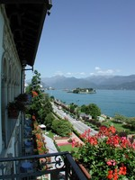 Италия. Озеро Маджоре. Grand Hotel Des Iles Borromees. Balcony_view