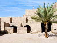 Иордания. Акаба. Courtyard of medieval Mamluks fort in Aqaba. Фото Valery Voennyy - Depositphotos