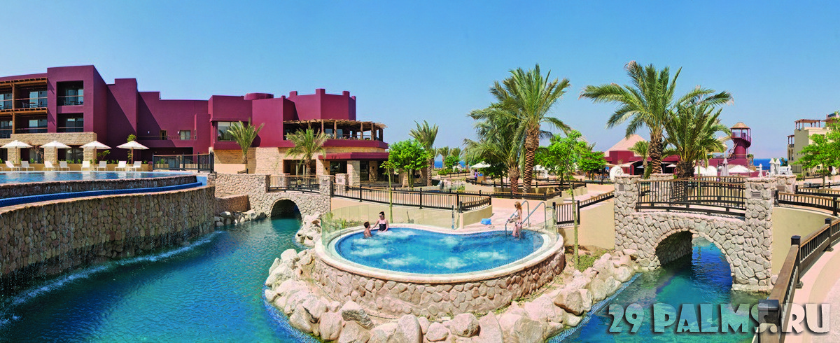 Иордания. Акаба - Тала Бей. Mоvenpick Resort & Spa Tala Bay Aqaba. Jacuzzi