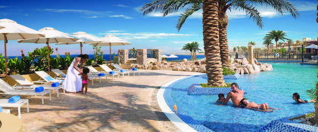 Иордания. Акаба - Тала Бей. Mоvenpick Resort & Spa Tala Bay Aqaba. Leisure Pool