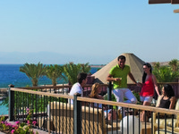 Иордания. Акаба - Тала Бей. Mоvenpick Resort & Spa Tala Bay Aqaba. Baraka Terrace