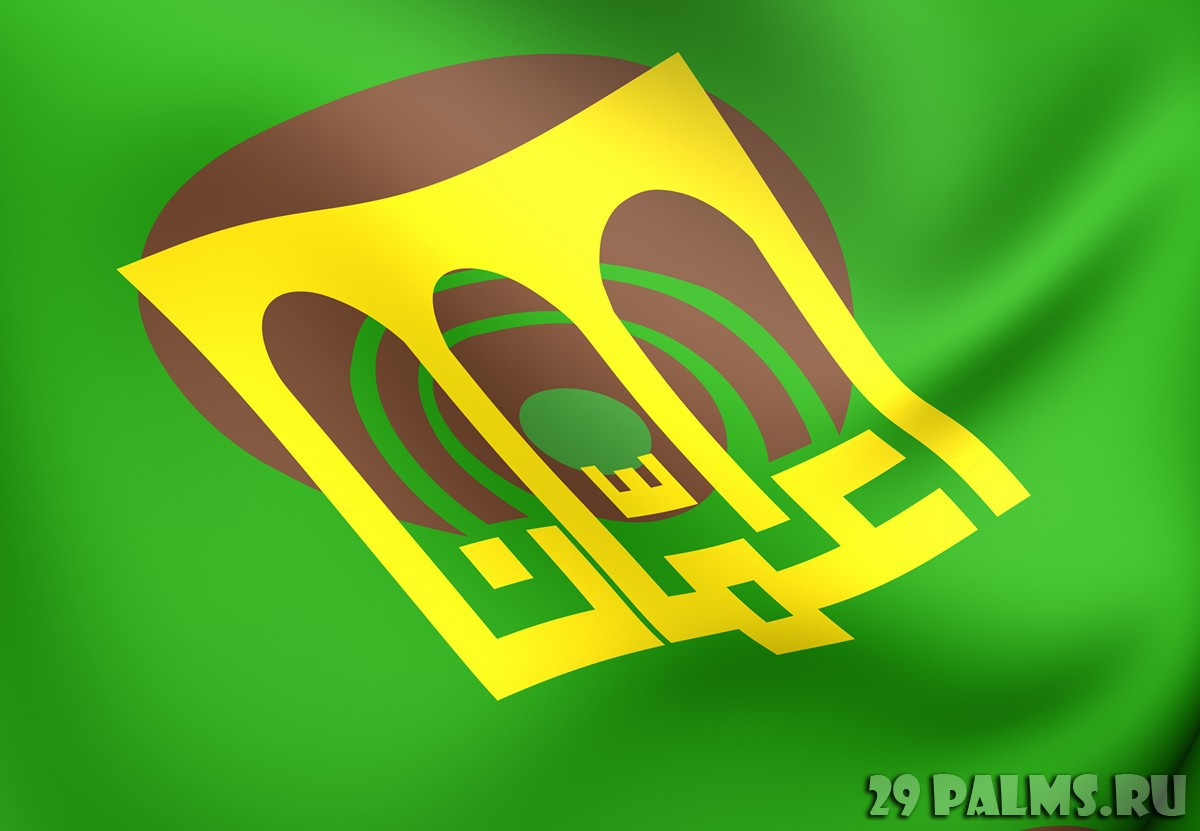 Иордания. Амман. Flag of Amman. Close up. yuiyui - Depositphotos
