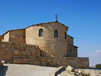 Иордания. Гора Нево. The church on top of Mount Nebo, Jordan. Фото Matthew Carroll -  Depositphotos
