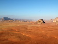 Иордания. Jordan. Wadi Rum Desert beautiful landscape from above. Jordan. CarlosNeto - Depositphotos