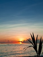 Мальдивы. Colorful Sunset Maldives. Фото Tanja Frost - Depositphotos