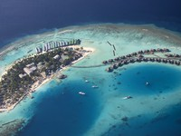 Мальдивы. Maldives. Luxury hotel in Indian ocean. Фото Myroslava Bozhko - Depositphotos