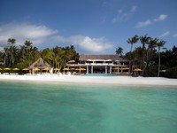 Мальдивы. Niyama Maldives. Epicure Beach from the Sea