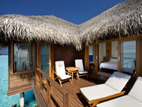 Sheraton Maldives Full Moon Resorts&Spa. Water Bungalow