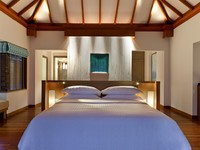 Sheraton Maldives Full Moon Resorts&Spa. OCEAN POOL VILLA BEDROOM