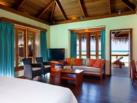 Sheraton Maldives Full Moon Resorts&Spa. Water Villa