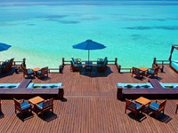 Sheraton Maldives Full Moon Resorts&Spa. Anchorage Bar