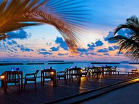Sheraton Maldives Full Moon Resorts. Sea Salt -Specialty Steak & Seafood