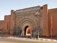 Марокко. Марракеш. Bab Agnaou gate in Marrakech, Morocco. Фото Philip Lange - Depositphotos