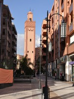 Марокко. Марракеш. Mosque in the city of Marrakesh. Фото Philip Lange - Depositphotos