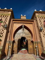 Марокко. Марракеш. Entrance of a Riad iin Morocco. Фото piccaya - Depositphotos