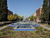 Марокко. Марракеш. Fountain in the city of Marrakesh, Morocco. Фото Philip Lange - Depositphotos