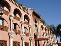 Марокко. Марракеш. Building in Marrakesh, Morocco. Фото Philip Lange - Depositphotos
