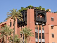 Марокко. Марракеш. Modern residential building in the city of Marrakech. Фото Philip Lange - Depositphotos