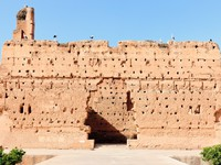 Марокко. Марракеш. Ruins of the medieval El-Badi Palace at Marrakech. Morocco.  Фото Олег Селезнев - Depositphotos