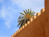 Марокко. Марракеш. Wallbackground - morocco. Фото zoomteam - Depositphotos