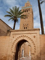 Марокко. Марракеш. The Koutoubia mosque in Marrakesh (Morocco). Фото Daniel Garcia Villanueva - Depositphotos