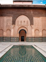 Марокко. Марракеш. Courtyard in Marrakech, Morocco. Фото Ionut David - Depositphotos