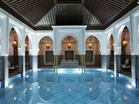 Марокко. Маррокеш. La Mamounia. Indoor_Pool