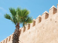 Марокко. Рабат. Wall surrounding the Medina at Rabat. Фото BZH2224 - Depositphotos