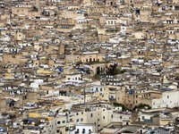 Марокко. Фес. Ancient city view. Фото Janos Posztos - Depositphotos