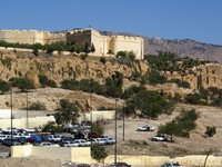 Марокко. Фес. Fortress on the top of hill in Fes, Morocco. Фото Валерий Шанин - Depositphotos