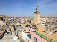 Марокко. Фес. View over the roofs of the medina of Fes, Morocco. Фото Philip Lange - Depositphotos