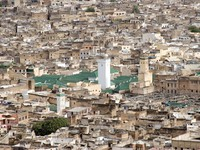 Марокко. Фес. Aerial View of Kairaouine Mosque in Fes, Morocco. Фото Premek Depositphotos