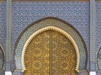 Марокко. Фес. Фес. Moroccan Palace. Фото Jeremy Richards - Depositphotos