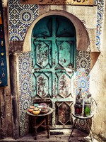 Марокко. Фес.  Mosaic decoration of the at Fez, Morocco. Фото Mariusz Prusaczyk - Depositphotos